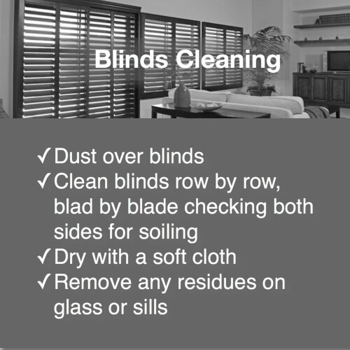 domestic bliss blinds service detail duties