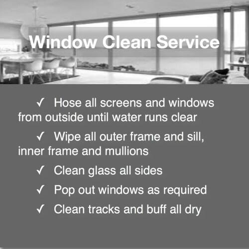 domestic bliss window service detail duties
